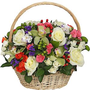 """Корзина цветов Композиция """"Версаль"""""""