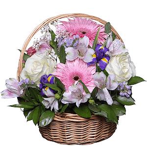 Райский сад +30% цветов с доставкой в Омске