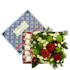 Сладкая жизнь +30% цветов с доставкой в Омске