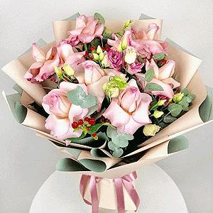 Воздушный поцелуй +30% цветов с доставкой в Омске