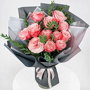 Бизнес-букет +30% цветов с доставкой в Омске