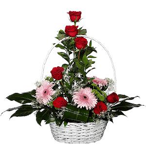 """Корзина цветов Композиция """"Изысканный комплимент"""""""