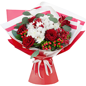Восхищение +30% цветов с доставкой в Омске