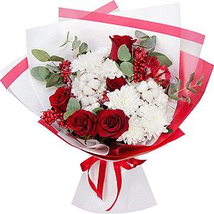 С днем защитника отечества! +30% цветов с доставкой в Омске