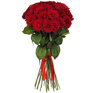 Букет из 51 красной розы - премиум